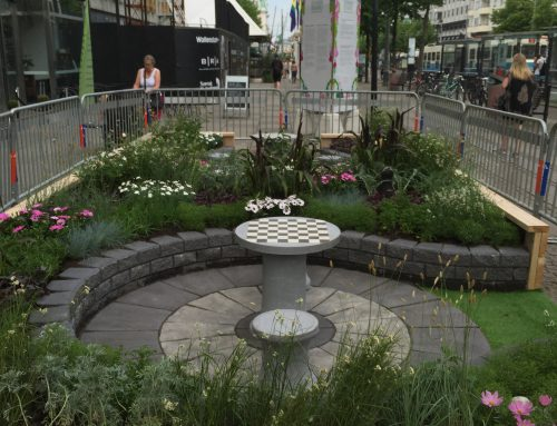 Pop-up park på Avenyn